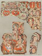 N04055:オーレル・スタイン発掘 中央アジア古代仏堂壁画 Wall Paintings from Ancient Shrines in Central Asia